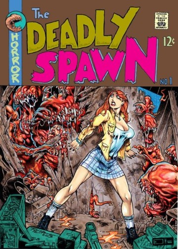 THE DEADLY SPAWN MONST...